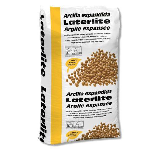 Arcilla Expandida Laterlite: árido ligero, aislante y resistente