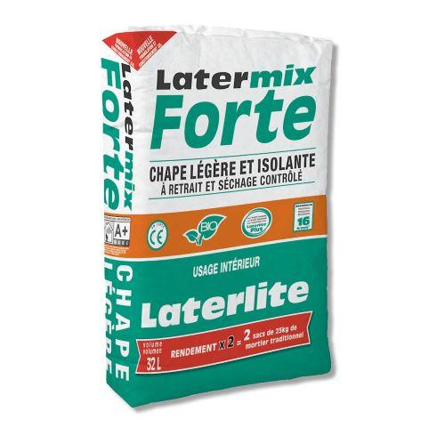 Latermix Forte: Solera ligera de retracción compensada