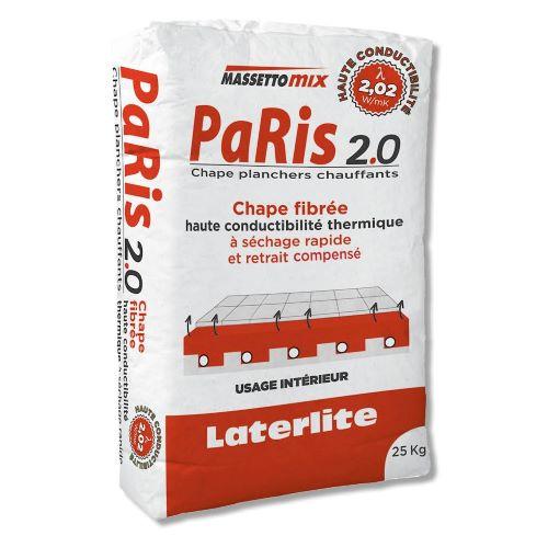 PaRis 2.0 mortero de alta conductividad para suelo radiante