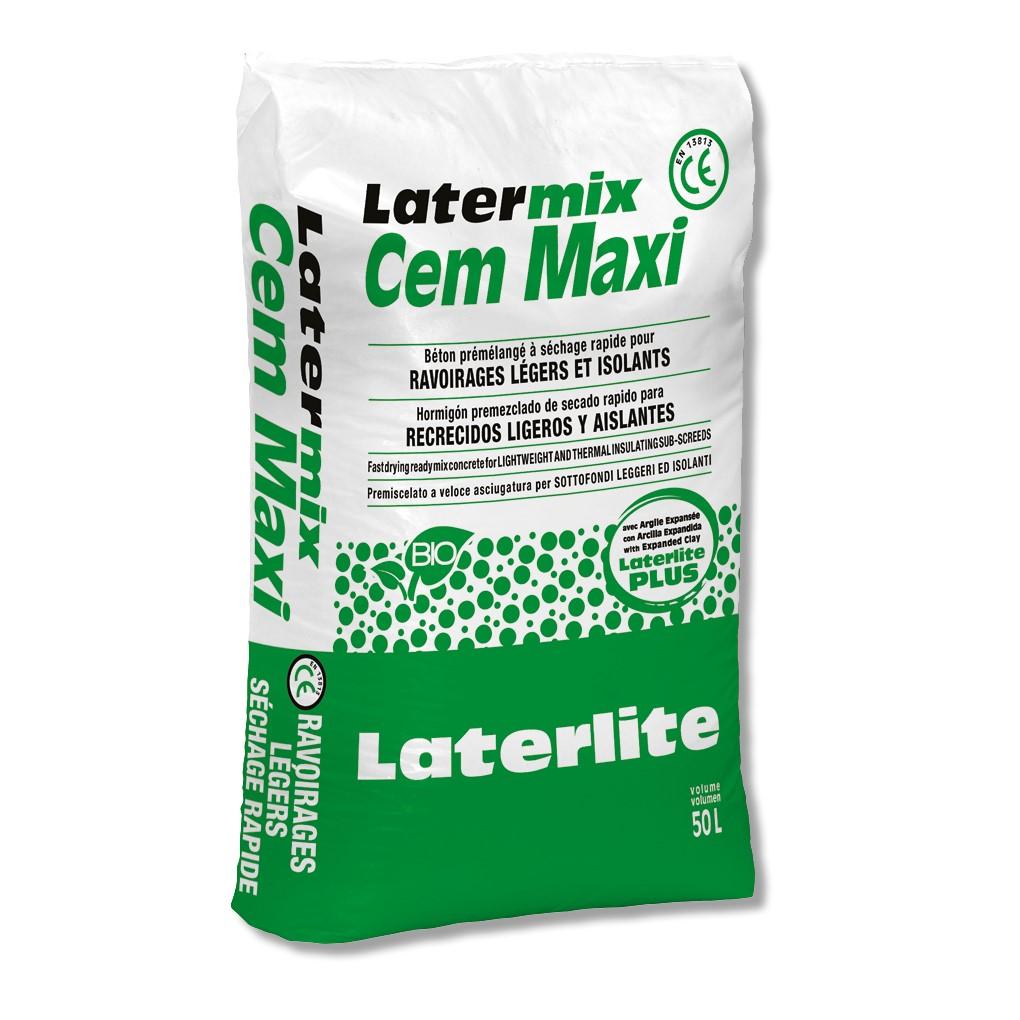 Latermix Cem Maxi: hormigón poroso ultraligero para altos espesores