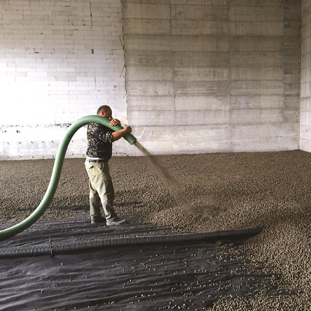 Aislamiento de suelos y forjados sobre el terreno y cimentaciones