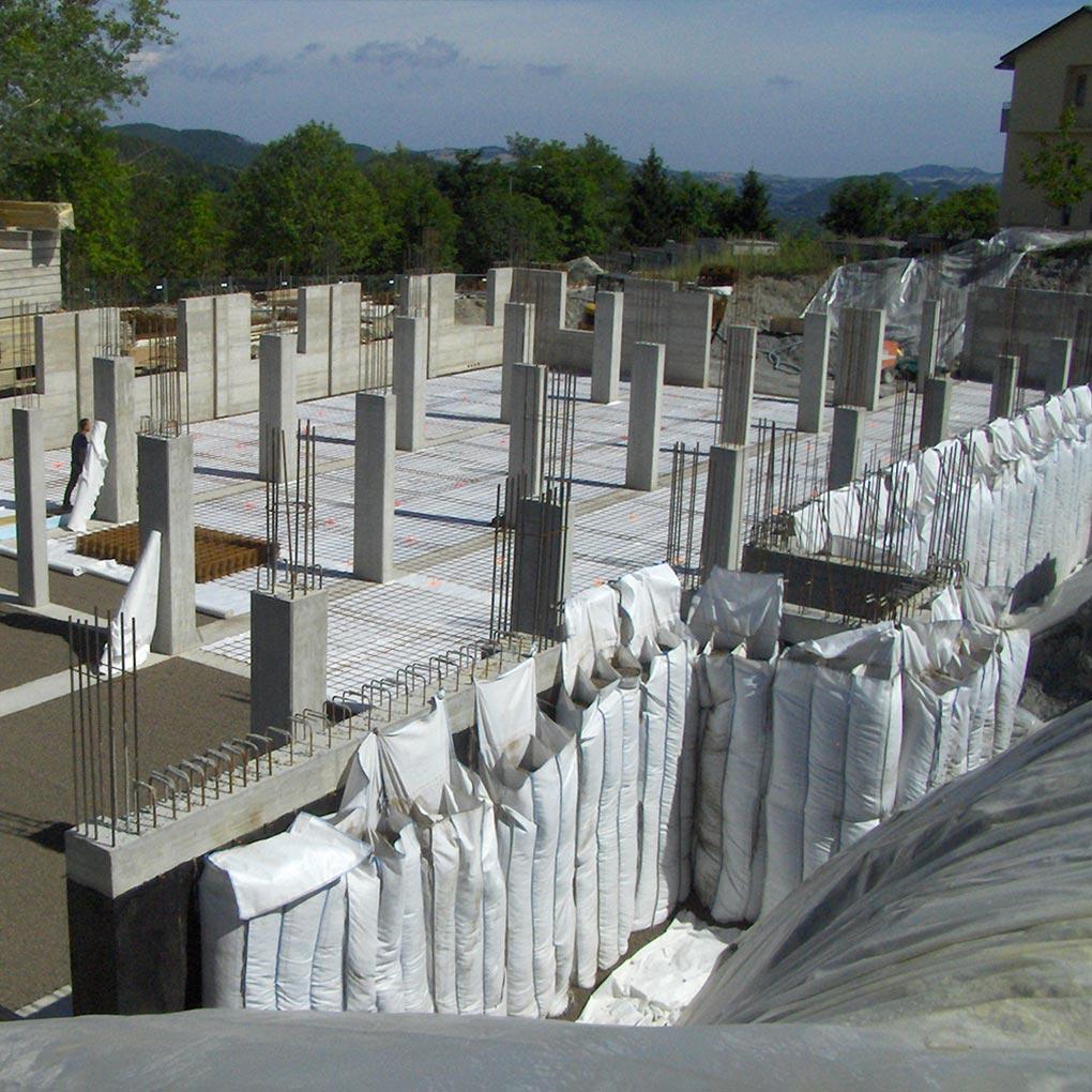Muros de sótano: aislamiento y drenaje
