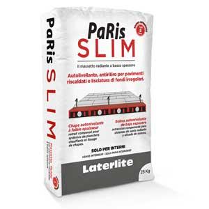 Paris SLIM:  Solera autonivelante de bajo espesor