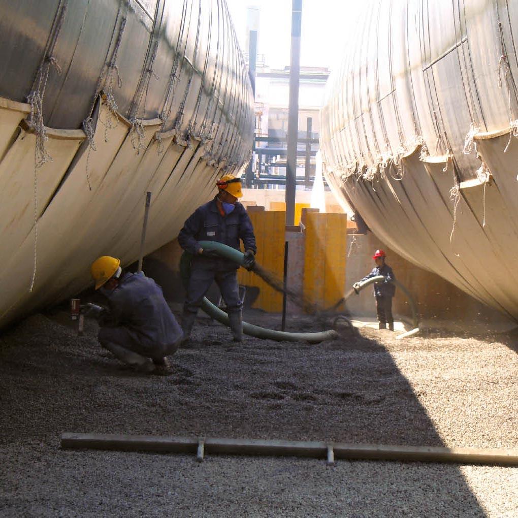 Instalaciones enterradas y canalizaciones subterráneas: aislamiento y protección