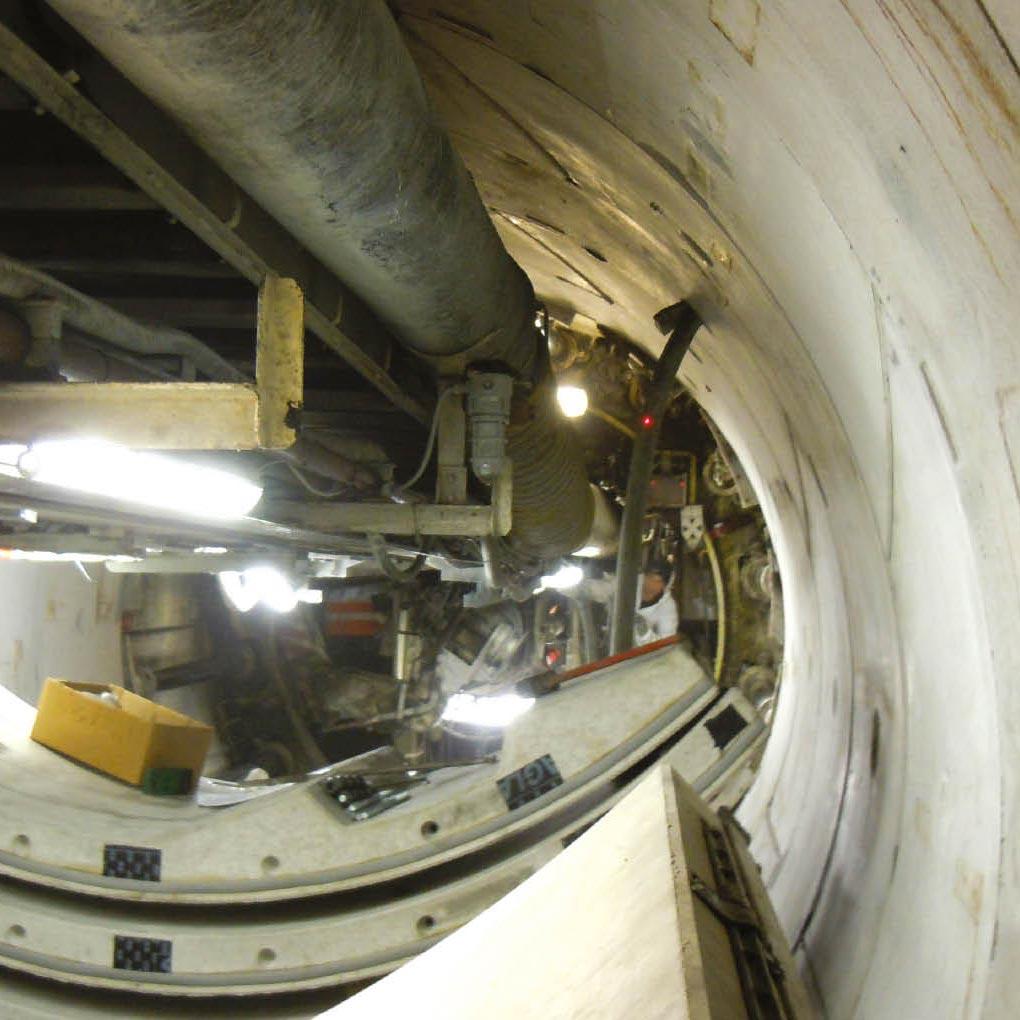 Túneles y galerías: excavación y relleno anular en el trasdós de las dovelas